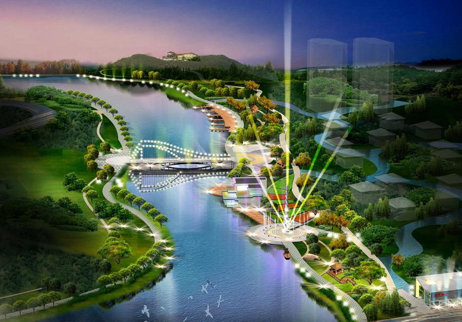 南海新区幸福河