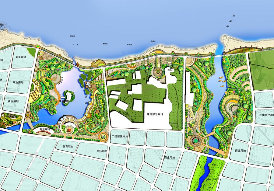 威海护岸设计